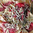 Beet Ravioli with Poppyseeds