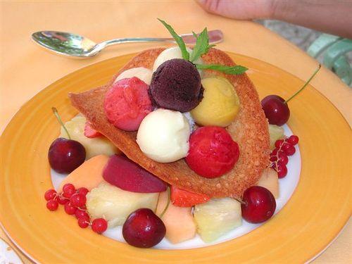 Summer Fruit Sorbets